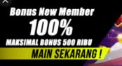 situs judi bonus member baru